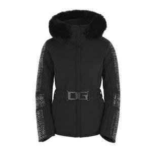 Ogier Swarovski Hematite Ski Jacket Black
