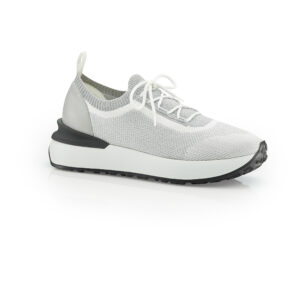 Athenes sneakers silver white