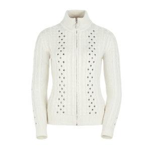 Ogier Birmingham Cashmere Sweater Off White