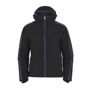Ogier Cervinia Carbon Blue Ski Jacket Black Blue