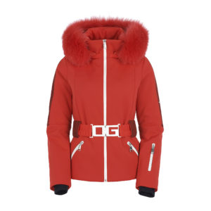 Ogier Chamonix Red Ski Jacket Red