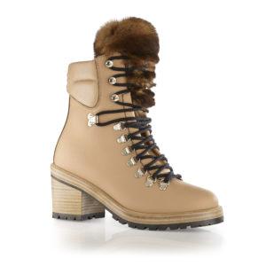 Ogier Kiev Orylag Ankle Boots Brown
