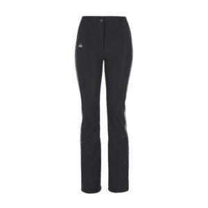 Ogier Lady Black Hematite Ski Pant Black
