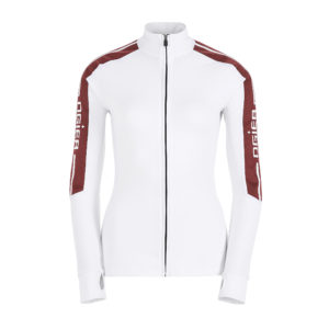 Ogier Les Houches Red Base Layer White Red