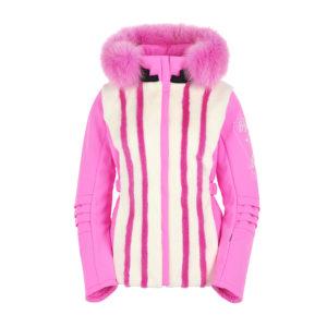 Ogier Mink Paparazzi Ski Jacket Pink Paparazzi