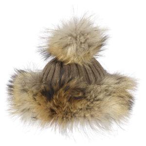 Ogier Pruga Cashmere Brown Hat