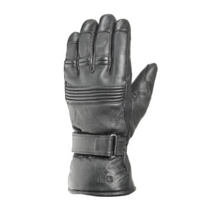 Ogier Zenith Leather Ski Glove Black
