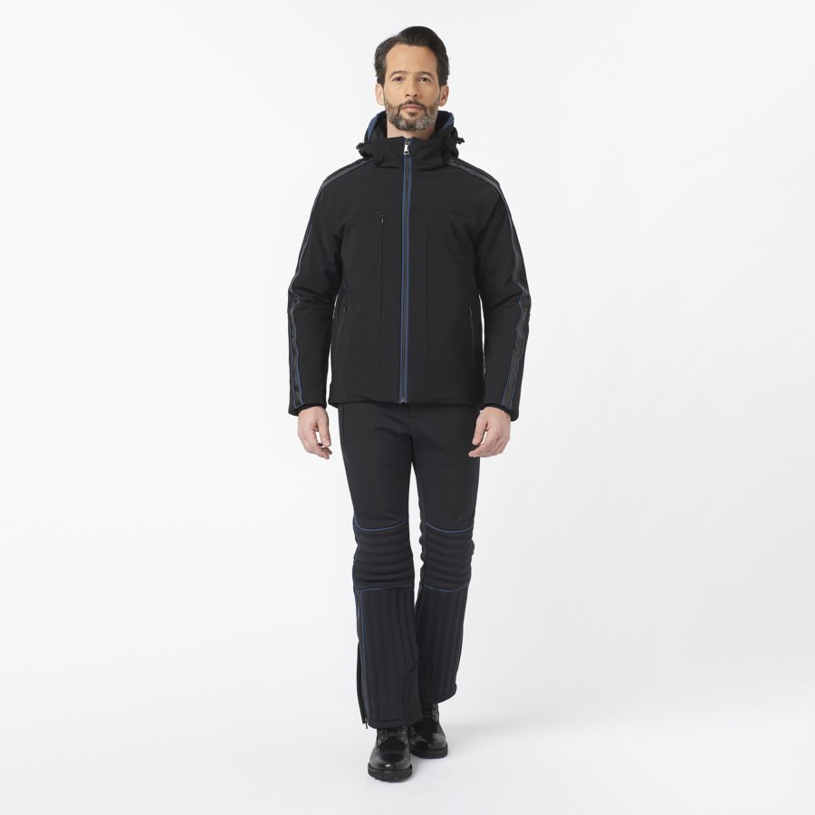 Cervinia Carbon Blue Ski Jacket • OGIER Official Website (US)