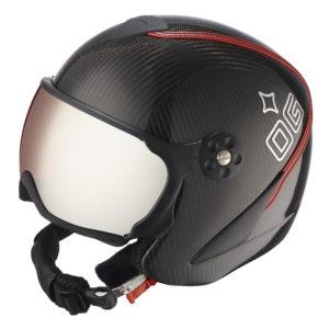 Ogier Kitzbuhel Carbon Red Helmet Red
