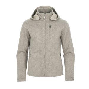 Ogier London Reversible Cashmere Jacket Beige